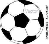 vector football   Shutterstock .eps vector #56705389