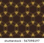 geometric shape abstract vector ... | Shutterstock .eps vector #567098197