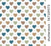 hearts pattern. valentines day... | Shutterstock .eps vector #567109573