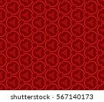 modern geometric seamless... | Shutterstock .eps vector #567140173