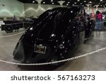 Small photo of Los Angeles, USA - January 28, 2017: 1925 Rolls-Royce Phantom I Aerodynamic Coupe on display during The Classic Auto Show at the Los Angeles Convention Center.