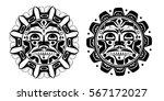 vector illustration of the sun... | Shutterstock .eps vector #567172027