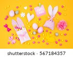 Easter Holiday Concept With...