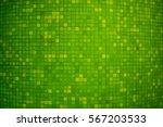 Green Color Ceramic Mosaic Wal...