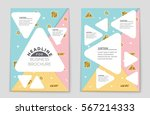 abstract vector layout... | Shutterstock .eps vector #567214333