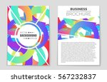abstract vector layout... | Shutterstock .eps vector #567232837
