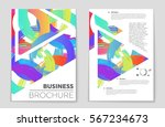 abstract vector layout... | Shutterstock .eps vector #567234673