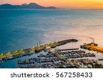 port of sidi bou said near... | Shutterstock . vector #567258433