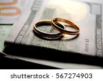 marriage contract | Shutterstock . vector #567274903