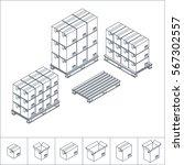 Vector Illustration. Set Of...