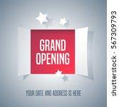 grand opening vector background ...   Shutterstock .eps vector #567309793
