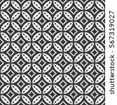 seamless geometric monochrome... | Shutterstock .eps vector #567319027