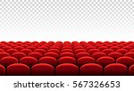 vector illustration of rows of... | Shutterstock .eps vector #567326653