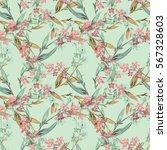 Floral Seamless Pattern. Raste...