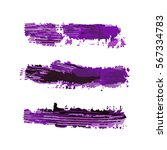 realistic color vector brush... | Shutterstock .eps vector #567334783
