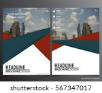 abstract vector modern flyers... | Shutterstock .eps vector #567347017
