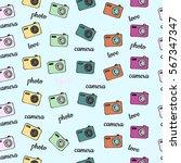 seamless vector background... | Shutterstock .eps vector #567347347
