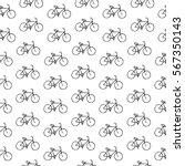 seamless simple vector black... | Shutterstock .eps vector #567350143