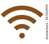 vector illustration of brown... | Shutterstock .eps vector #567352993