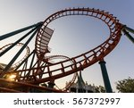 Roller Coaster At Fun Park Nam...