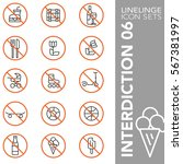 high quality thin line icons of ... | Shutterstock .eps vector #567381997