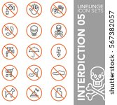 high quality thin line icons of ... | Shutterstock .eps vector #567382057