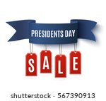 presidents day sale background... | Shutterstock . vector #567390913