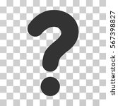 question vector pictogram.... | Shutterstock .eps vector #567398827