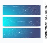 modern set of vector banners.... | Shutterstock .eps vector #567401707