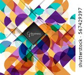 circlesabstract background....   Shutterstock .eps vector #567429397