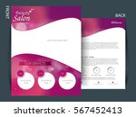 colorful background and flyer... | Shutterstock .eps vector #567452413