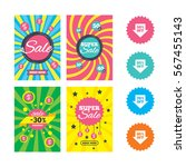 web banners and sale posters.... | Shutterstock .eps vector #567455143