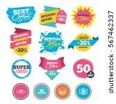 sale banners  online web... | Shutterstock .eps vector #567462337