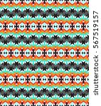 tribal seamless colorful... | Shutterstock .eps vector #567519157