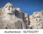 mount rushmore national... | Shutterstock . vector #567532297