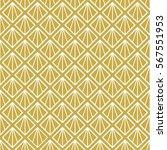 art deco seamless background. | Shutterstock .eps vector #567551953