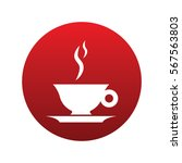 coffee icon isolated vector...