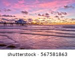 Sunset At Clearwater Beach...