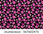 raster seamless pattern. aloha... | Shutterstock . vector #567602473