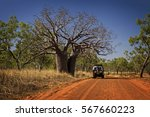 outback track at the kimberleys ...