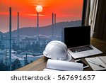 engineering industry concept... | Shutterstock . vector #567691657