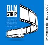 film strip vector illustration... | Shutterstock .eps vector #567724777