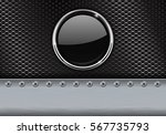 metal perforated background... | Shutterstock .eps vector #567735793