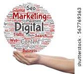 concept or conceptual digital... | Shutterstock . vector #567769363