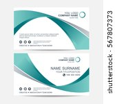 business card vector background | Shutterstock .eps vector #567807373