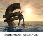 conceptual 3d illustration... | Shutterstock . vector #567814987