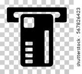 ticket machine icon. vector... | Shutterstock .eps vector #567826423