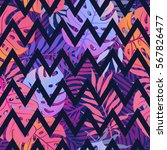 exotic seamless pattern with... | Shutterstock .eps vector #567826477