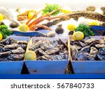 Fresh Oyster Ready To Be Sold...