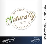 nature product symbol. healthy... | Shutterstock .eps vector #567850567